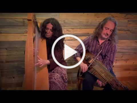 Lisa Lynne & Aryeh Frankfurter play Celtic harp and Nyckelharpa.