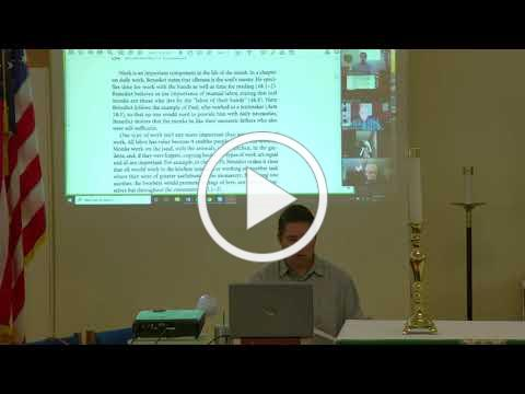 St. Benedict's Toolbox, Class 6, Holy Work, 10.28.2020 ed