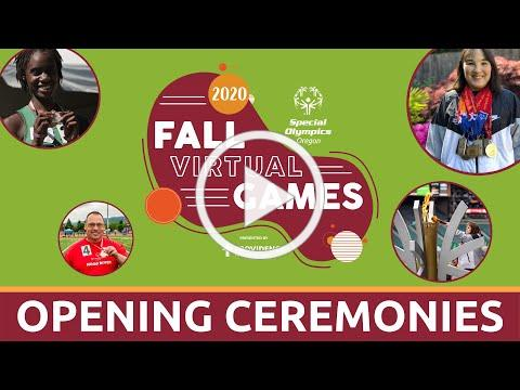 Fall Virtual Games Opening Ceremonies 2020