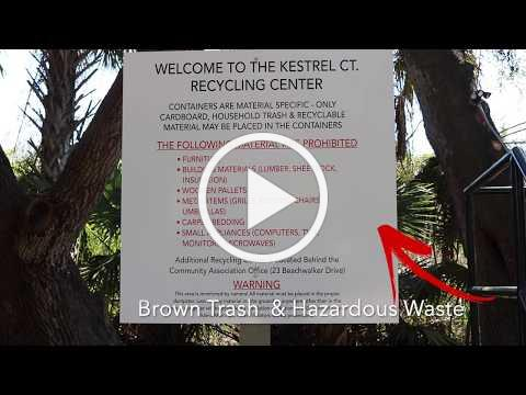 Kestrel Court Recycling Center