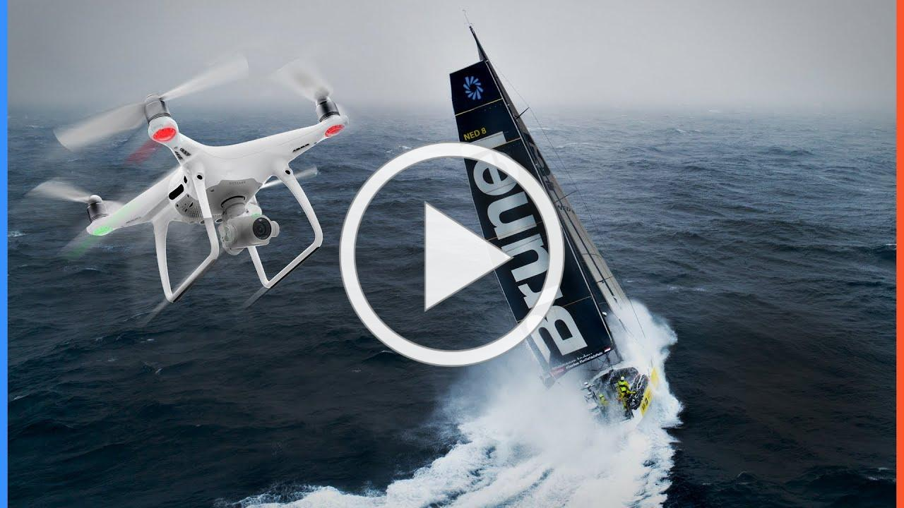Most Incredible drone shots from The Ocean Race!