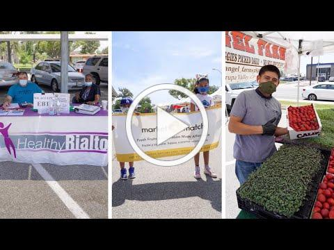 Market Match at the Rialto Certified Farmers Market