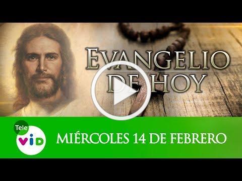 El Evangelio De Hoy Miércoles de Ceniza 14 De Febrero De 2018, Lectio Divina Tele VID
