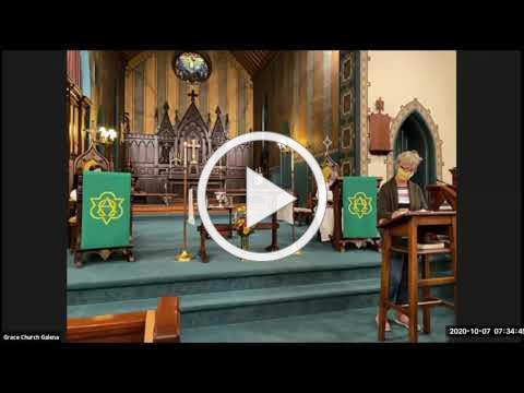 Grace Galena Wednesday Eucharist10 7 2020