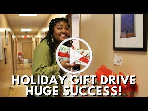 2017 Holiday Gift Drive Huge Success!
