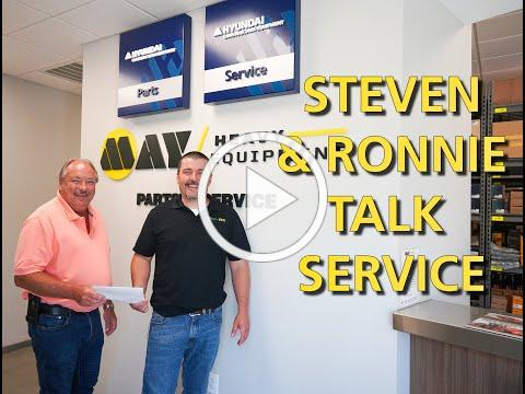 NED Talks Ep 4 - Steven Gawthrop and Ronnie Yeatts Tour Lexington, Service Facility