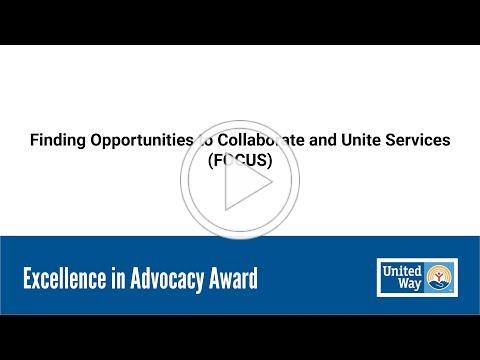 FOCUS - Excellence in Advocacy Award