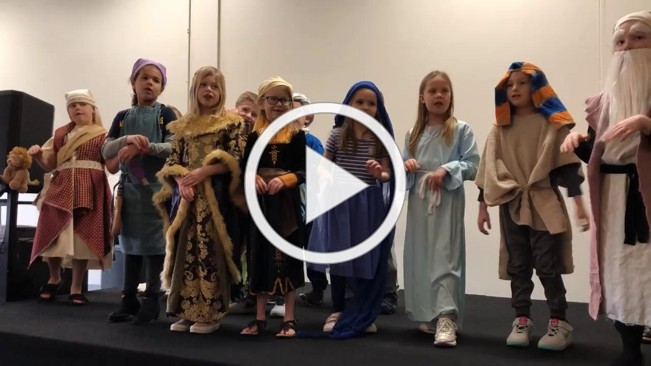 First Grade Bible Character Day