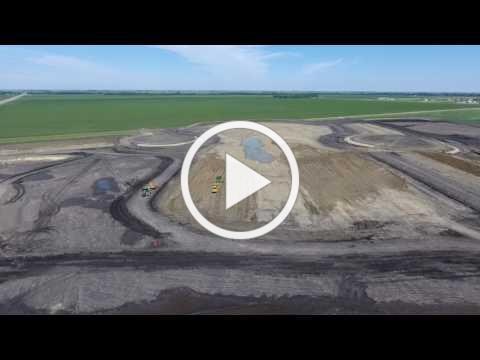 Construction update // Inlet and Control Structure site flyover