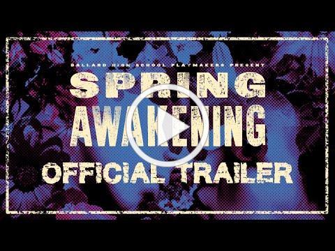 Official Trailer | BHS Spring Awakening
