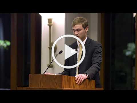 Forty Acres Scholars Program Dinner Speeches | Henry Boehm
