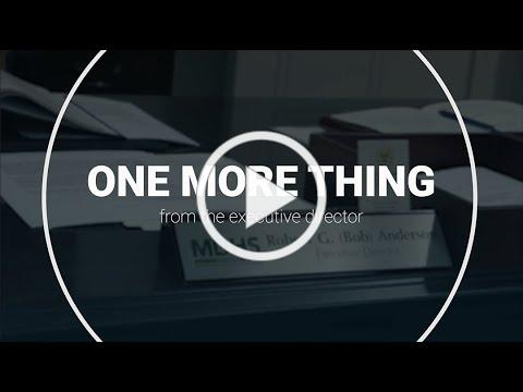 One more thing | October 2020