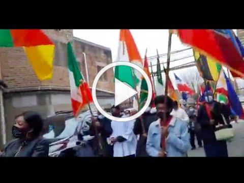 Eucharistic Adoration wt Parade of Flags, Nov 22, 2020