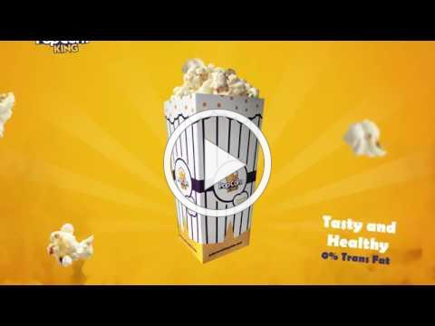 Popcorn Vending Machine - Popcorn King
