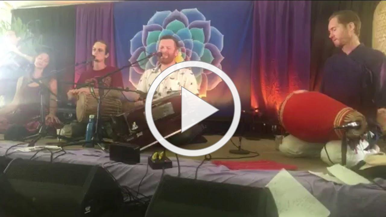 Scott Hari Whitmore and Krishna Prem of Kripa- Sri Ma