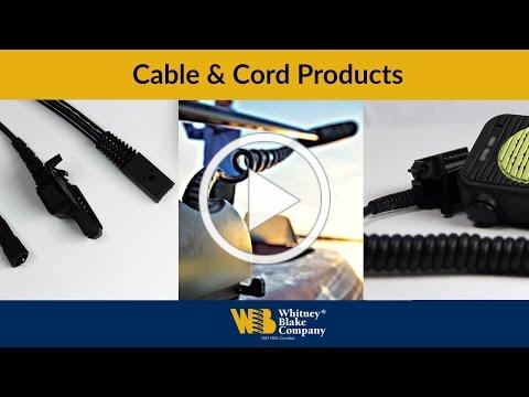 Cables & Cord Products by Whitney Blake Company