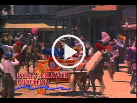 Papa's Delicate Condition Trailer 1963