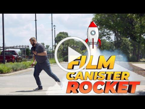 Summer Camp at Home: Film Canister Rockets Opens in new window