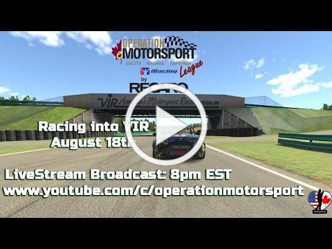 Operation eMotorsport - Virginia Interenational Raceway (Full Course)