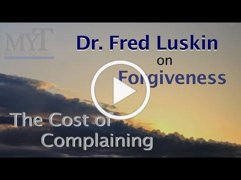 MYT Forgiveness: The Cost of Complaining