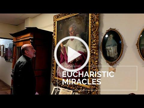 Eucharistic Miracles at the House of Mercy | Relics and Artifacts
