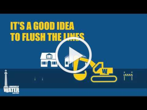 Flushing Your Water Lines