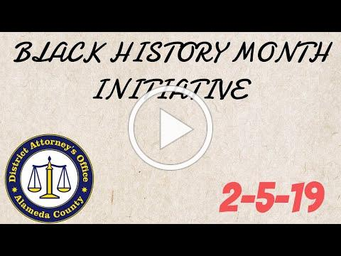 Black History Month: Tuesday 2/5/19: ADA Kim Hunter on Robert Nelson Hunter.