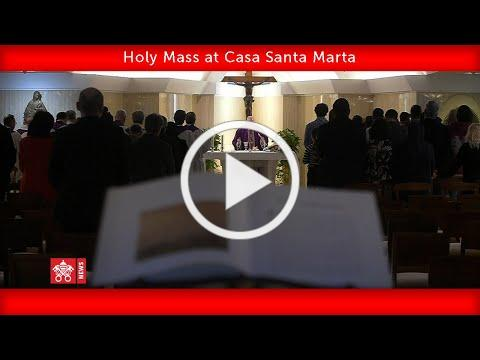 May 08 2020, Santa Marta Mass, Pope Francis