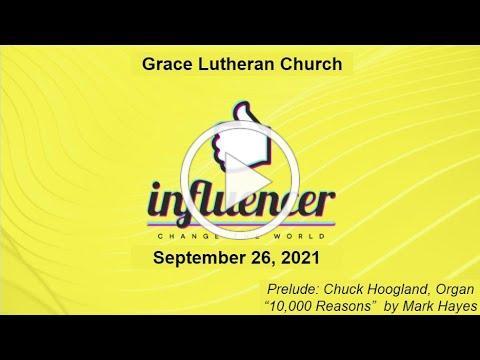Worship Service for September 26, 2021