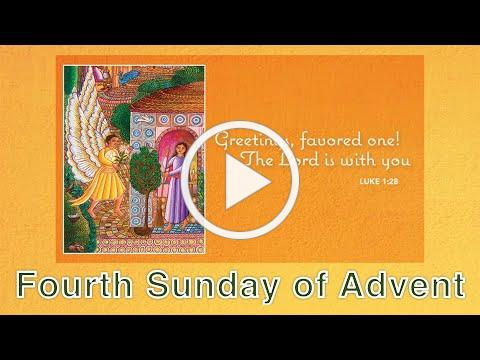 Service of the Word for the Fourth Sunday of Advent - Dec 20