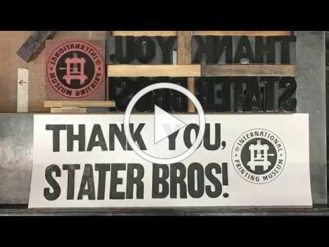 Stater Bros Donates Paper to Schools