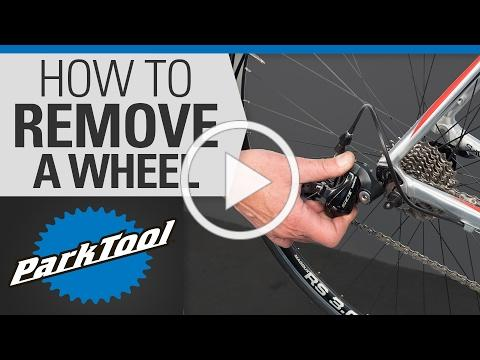 How to Remove and Install a Wheel on a Bicycle