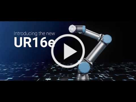 The New UR16e Collaborative robot is here