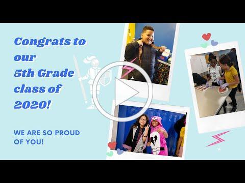 Stedman 5th Grade Continuation 2020