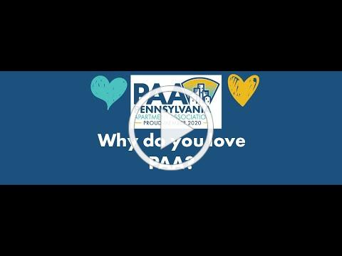 What do you love about the PAA?