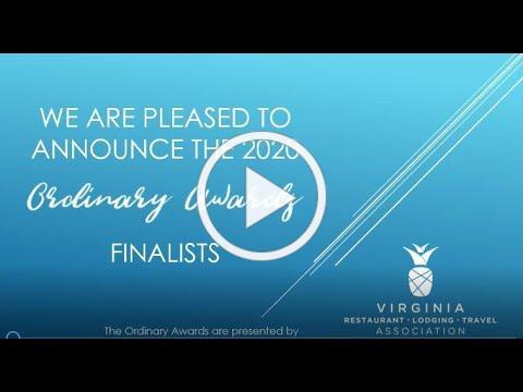 Ordinary Awards 2020 Finalist Announcement