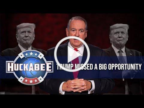 Trump Missed A BIG Opportunity In The DEBATE | Huckabee
