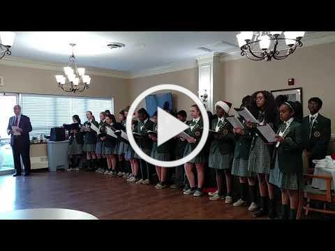 Caroling with the Builders Club