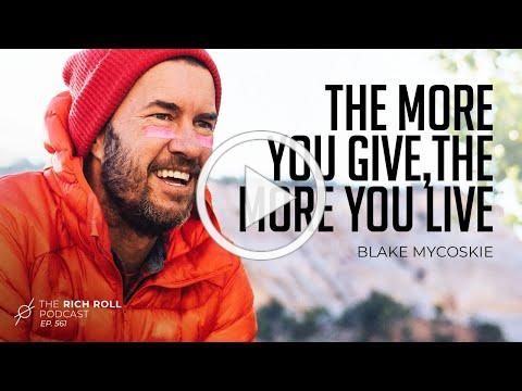 TOMS Founder on Being a Lifelong Seeker: Blake Mycoskie | Rich Roll Podcast