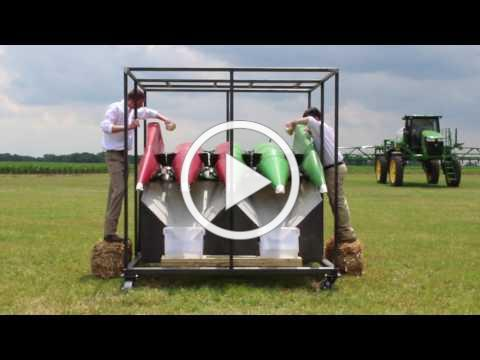 360 YIELD SAVER Demonstration Stand