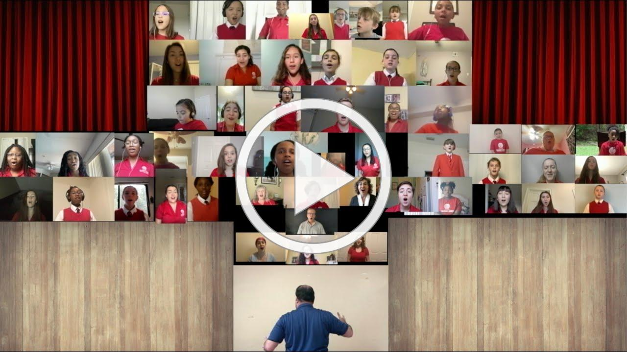 "Jacksonville Children's Chorus - ""Sing"" - Virtual Choir"