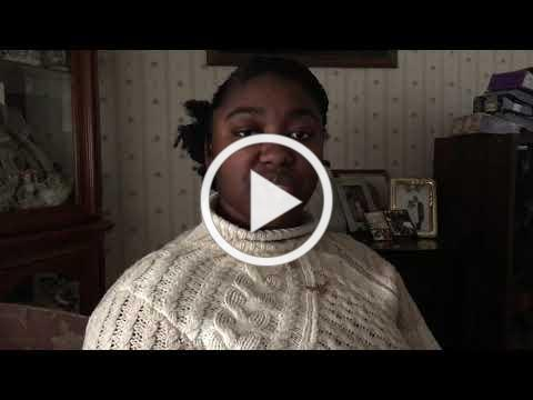 """""""I Am Black"""" composed and read by Eugenie Rose Belony"""