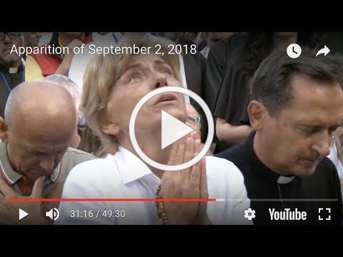 Apparition of September 2, 2018