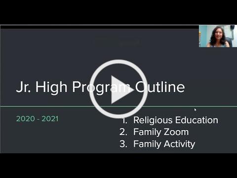 Jr. High Program Outline 20-21