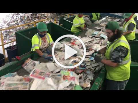 Recycling - Waste Pro Recycling Facility Tour