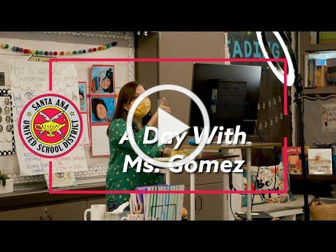 A Day With Martin Elementary's Ms. Gomez - #SAUSDForward