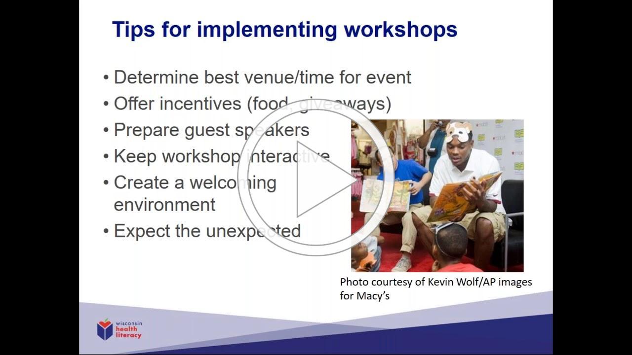 Successful Workshops