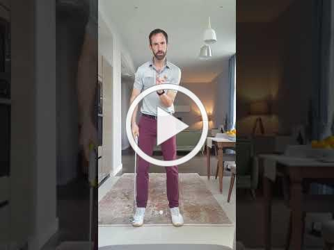 Head Professional Alex Day - Putting Drill at home