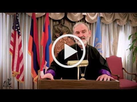 We Are With Artsakh - H.E. Archbishop Anoushavan Tanielian, Prelate of the Eastern Prelacy - English