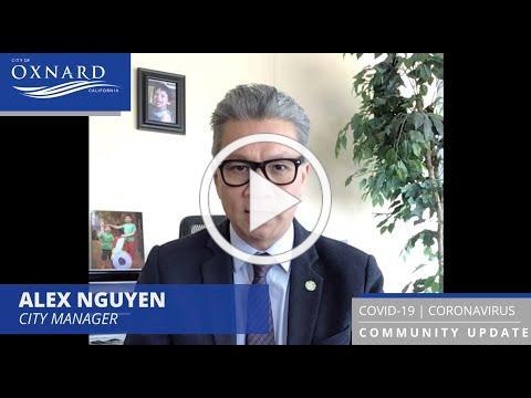 Oxnard's City Manager provides community updates regarding the coronavirus.